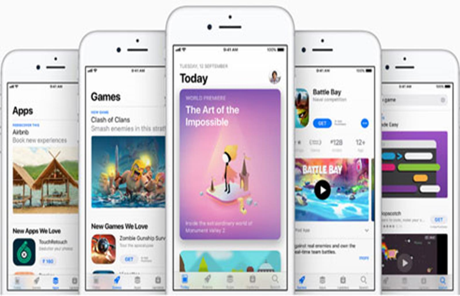 Apple's Growth Now Lies in App Store and Search Ad Businesses